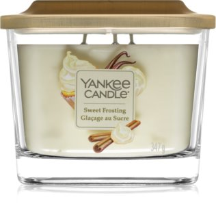 Yankee Candle Elevation Sweet Frosting mirisna svijeća srednji