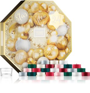 Yankee Candle Holiday Sparkle σετ δώρου adventní kalendář I.