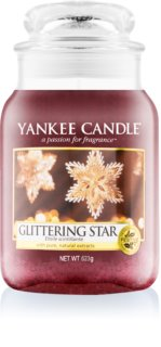 Yankee Candle Glittering Star bougie parfumée Classic grande