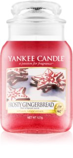 Yankee Candle Frosty Gingerbread scented candle Classic Large