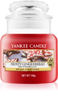 Yankee Candle Frosty Gingerbread ароматна свещ  Classic малка