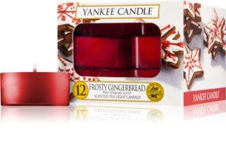 Yankee Candle Frosty Gingerbread чайная свеча