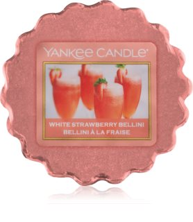 Yankee Candle White Strawberry Bellini illatos viasz aromalámpába