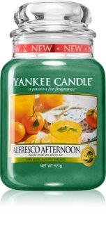 Yankee Candle Alfresco Afternoon candela profumata Classic grande
