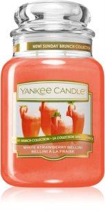 Yankee Candle White Strawberry Bellini lumânare parfumată  Clasic mare