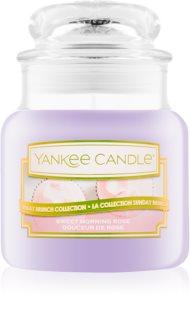 Yankee Candle Sweet Morning Rose bougie parfumée Classic petite