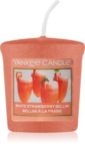Yankee Candle White Strawberry Bellini velas votivas