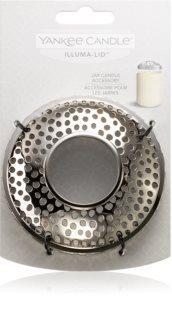 Yankee Candle Kensington Silver Metal díszítő gyertyagyűrű