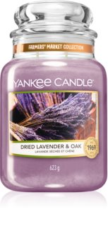 Yankee Candle Dried Lavender & Oak scented candle Classic Large