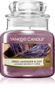 Yankee Candle Dried Lavender & Oak vonná svíčka
