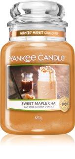 Yankee Candle Sweet Maple Chai vela perfumada Classic grande