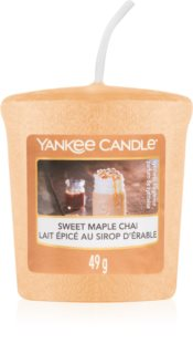 Yankee Candle Sweet Maple Chai votive candle