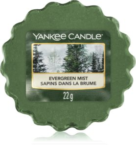 Yankee Candle Evergreen Mist vosk do aromalampy