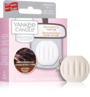 Yankee Candle Dried Lavender & Oak vůně do auta náhradní náplň závěsná