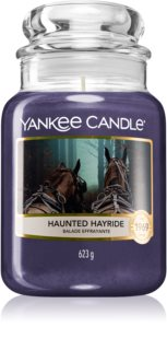 Yankee Candle Haunted Hayride lumânare parfumată  Clasic mare