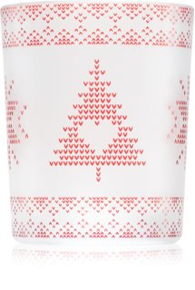 Yankee Candle Red Nordic porta-candele votive in vetro I