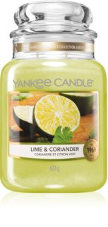 Yankee Candle Lime & Coriander αρωματικό κερί