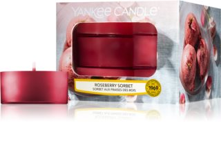 Yankee Candle Roseberry Sorbet teamécses