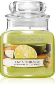 Yankee Candle Lime & Coriander vonná svíčka
