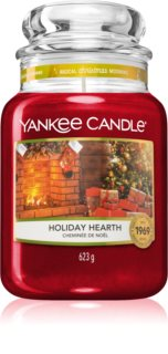 Yankee Candle Holiday Hearth vonná svíčka