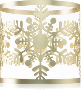 Yankee Candle Snowflake Frost bougeoir pour bougie parfumée