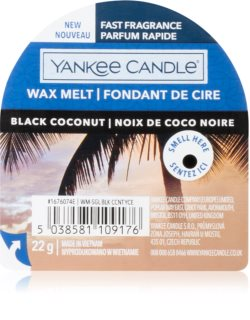 Yankee Candle Black Coconut wax melt I.