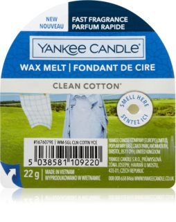 Yankee Candle Clean Cotton duftwachs für aromalampe I.