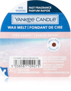 Yankee Candle Pink Sands wax melt I.