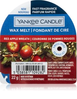 Yankee Candle Red Apple Wreath cera para lámparas aromáticas I.