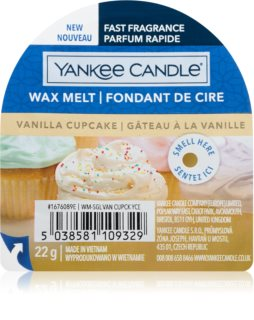 Yankee Candle Vanilla Cupcake tartelette en cire I.