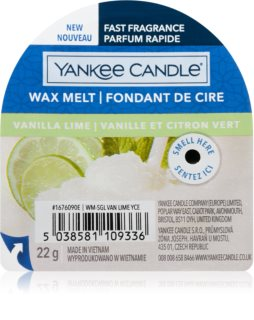 Yankee Candle Vanilla Lime vosk do aromalampy I.