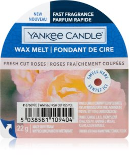 Yankee Candle Fresh Cut Roses duftwachs für aromalampe I.