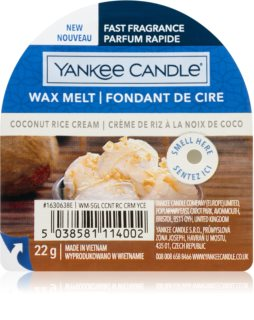 Yankee Candle Coconut Rice Cream tartelette en cire