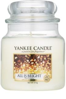 Yankee Candle All is Bright vonná svíčka Classic střední