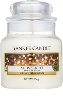 Yankee Candle All is Bright vonná svíčka Classic malá
