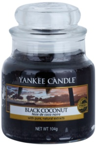 Yankee Candle Black Coconut scented candle Classic Mini