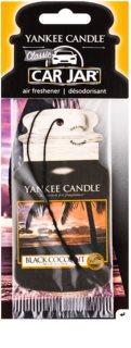 Yankee Candle Black Coconut dišeči obesek za v avto
