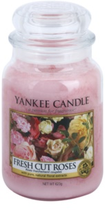 Yankee Candle Fresh Cut Roses duftkerze  Classic groß