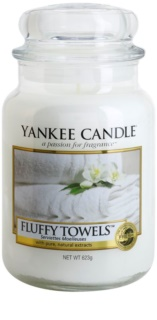 Yankee Candle Fluffy Towels bougie parfumée Classic grande