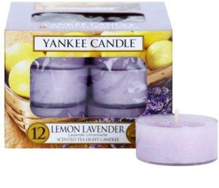 Yankee Candle Lemon Lavender čajová sviečka