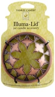 Yankee Candle Moroccan Copper пръстен за декорация на ароматна свещ за ароматна свещ Classic голям и среден