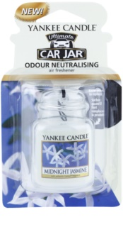 Yankee Candle Midnight Jasmine car air freshener hanging