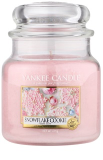 Yankee Candle Snowflake Cookie ароматна свещ  Classic средна