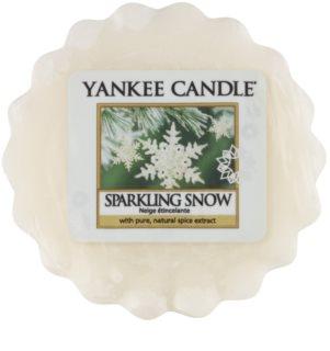 Yankee Candle Sparkling Snow cera derretida aromatizante