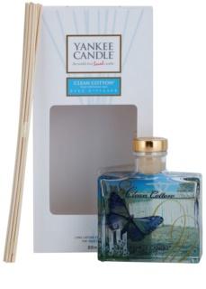 Yankee Candle Clean Cotton diffusore di aromi con ricarica Signature