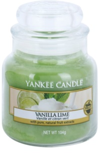 Yankee Candle Vanilla Lime scented candle Classic Mini