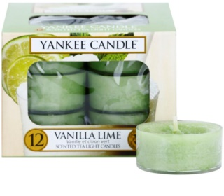 Yankee Candle Vanilla Lime tealight candle