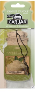 Yankee Candle Vanilla Lime Hanging Car Air Freshener