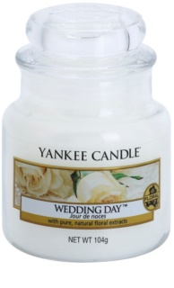 Yankee Candle Wedding Day candela profumata Classic piccola