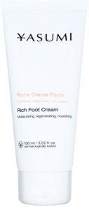 Yasumi Body Care Foot Cream for Dry and Cracked Skin with Nourishing Effect